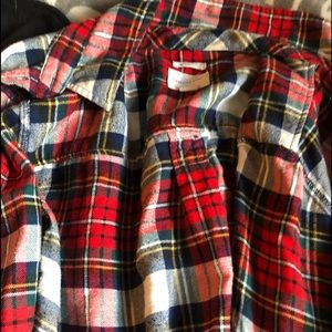 Red American eagle flannel xl